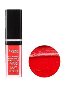 Pudra Lip Gloss Maxi Matt - 16 MAXI MATT